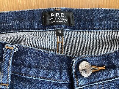 APC New Standard Jeans, Mens, Raw Japanese Selvedge,Size 35