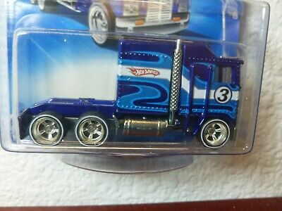 Kmart Mail In Only 2010 Hot Wheels THUNDER ROLLER #87 MONMC and in a PROTECTOR!