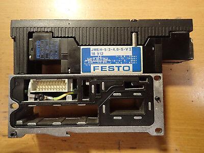 2x Festo JMEH-5/2-4,0-S-VI 18912 +VIGI-03-4,0 18653