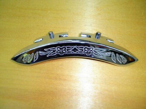 Banjo Armrest (Chrome Plated) Engraved Pattern Design