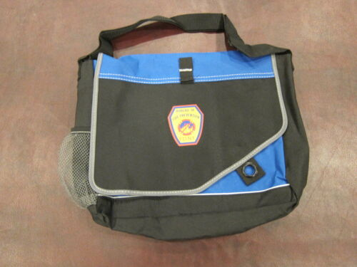 NYC FDNY Bureau Fire Prevention Messenger Laptop Bag Department Official Issue