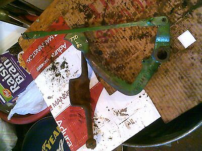 Oliver 770 Tractor Original Left Brake Pedal Linkage Rod Connecting Latch