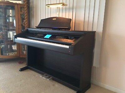Kawai Concert Performer Digital Piano Model CP115, Dark walnut, slightly used! for sale  Palm City