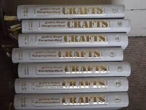 Vintage Golden Hands Encyclopedia of Crafts Hobart CBD Hobart City Preview