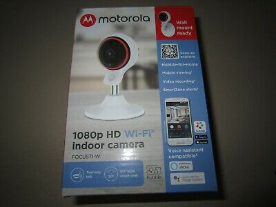 Motorola FOCUS71-W 1080pHD Wi-Fi Indoor Camera **NEW**