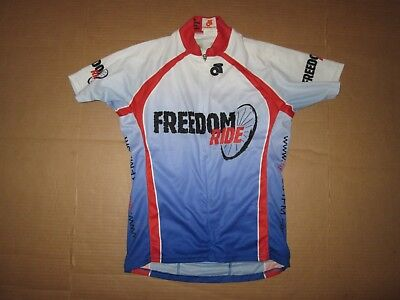 60708d2dc69 Womens FREEDOM RIDE half zip cycling jersey sz M md Med