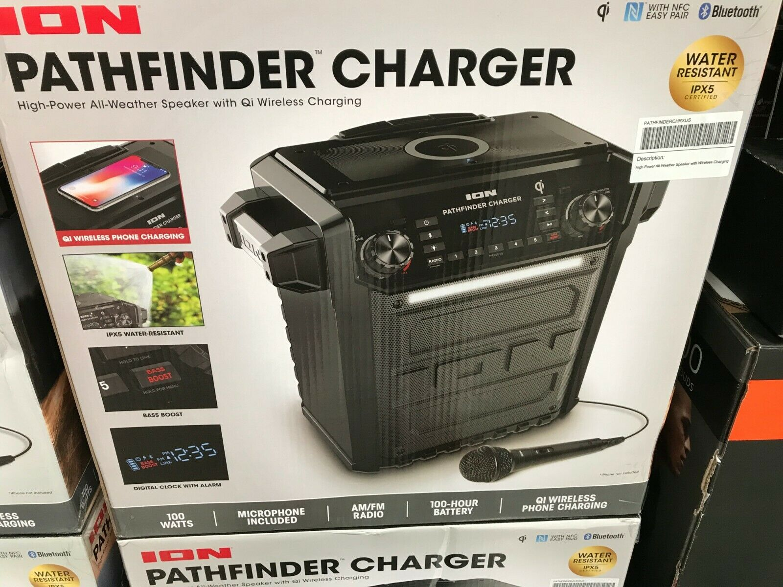 Ion Audio Pathfinder | High Power All-Weather Rechargeable S