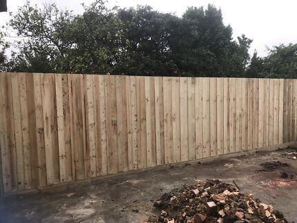 Garage Door and Fence - service