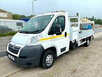 Citroen Relay 2.2HDi (130) 35 L3 LWB Alloy Drop side With Tail lift 2012/62 Reg