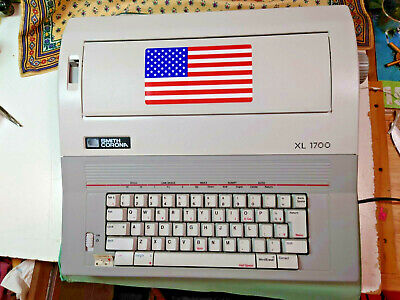 Smith Corona Electronic Typewriter Xl 1700 Model 5a-1 Wcover Excellent C-dition