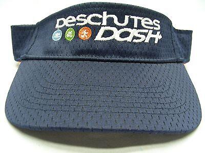 DESCHUTES DASH - EMBROIDERED - ADJUSTABLE SPORTS VISOR! bc7f86f61bb0