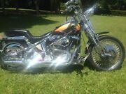Harley Davidson Custom Springer Montville Maroochydore Area Preview