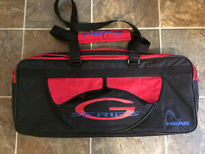 Head sports racquet squash tennis badminton bag