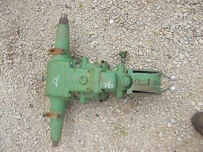 John Deere Mt Tractor Jd Hydraulic Lift Assembly W Pistons Rockshaft M1097t
