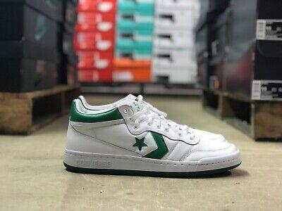 Converse Fastbreak 83 Mid Mens Shoe Green/White 156973C w/ Lunarlon Mens Sz 12