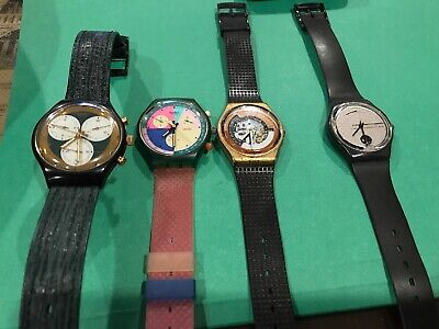 Vintage  Men's Swatch Watch Lot