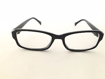 Zenni Optical 234321 Simple Rectangular Frame Rx Eyeglasses Black New