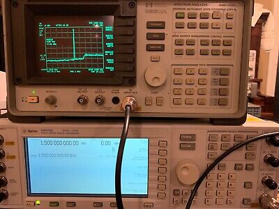 Hp 8590a 1.5ghz Opt.021 Spectrum Analyzer Used Tested Ships Free