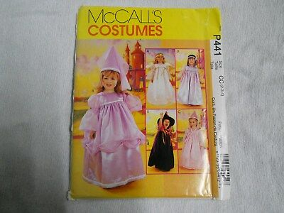 McCalls Costume Pattern P441Toddler 2 3 4 Pretty Girl Costumes Princess Witch](Costume P)