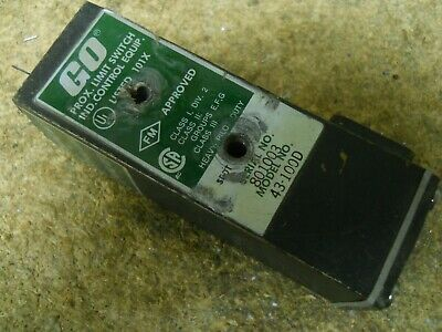 Go Proximity Limit Switch 43-100d Used
