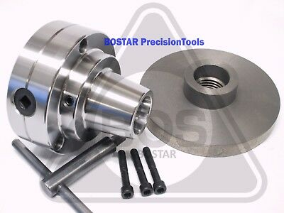 Bostar 5c Collet Lathe Chuck With Semi-finished Adp. M39 X 4 Thread