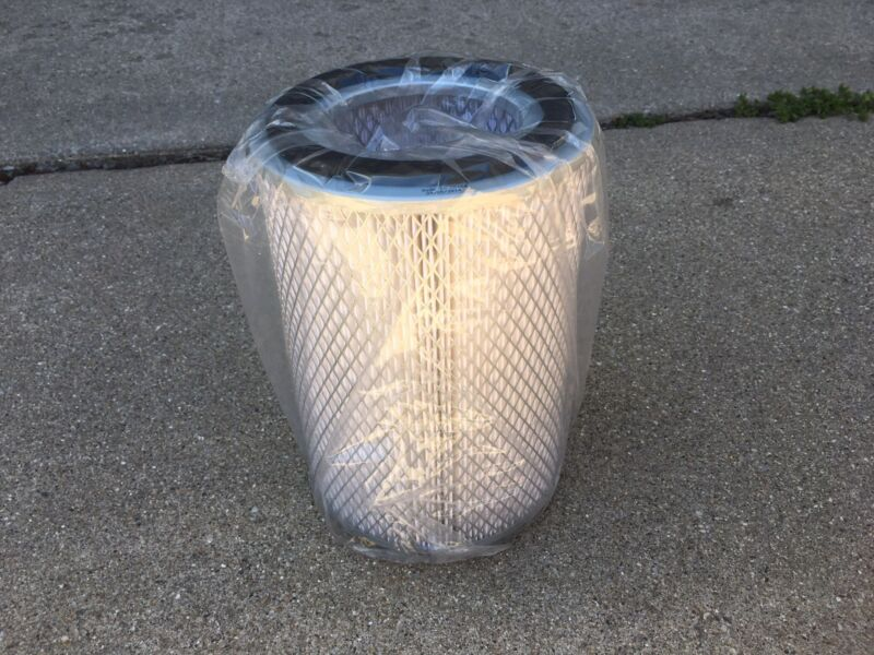 Filter Element 3-1/2 in ID X 5-7/8 in OD X 8-5/8 in LG Pleated Fabric/ Wire Mesh