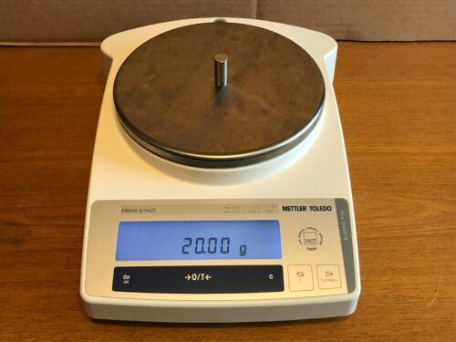 Mettler PB602-S FACT Analytical Lab Scale Digital Balance 600g 10 mg