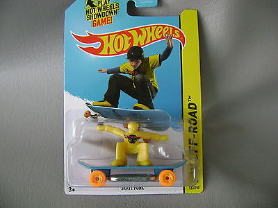 HOT WHEELS 2014 SKATE PUNK/ HW OFF-ROAD  #123/250