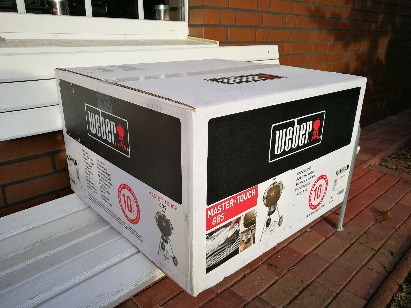 Weber Holzkohlegrill Master Touch Gbs 57 Cm Special Edition Pro : Weber grill master touch gbs 57 test vergleich weber grill