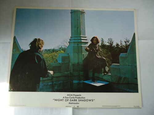 DAN CURTIS/NIGHT OF DARK SHADOWS/UC3/lobby card # 4