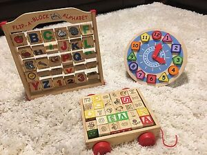 Wooden toys -  educational