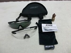 OAKLEY-ESS-2X-ICE-PROTECTIVE-EYESHIELD-BALLISTIC-SHOOTING-GLASSES-NEW