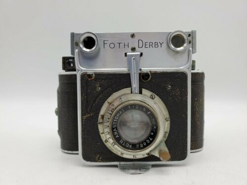Vintage Foth Derby Type 4 Coupled Rangefinder Camera - Anastigmat 50mm F2.5 Lens