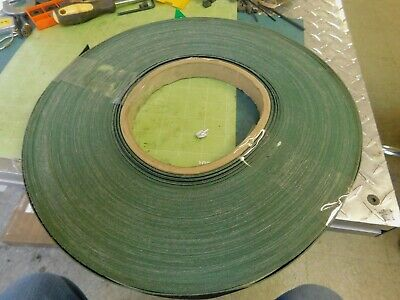 Roll Of Conveyor Belt Material .800 Wide X .045 Thick X 4-12 Lbs