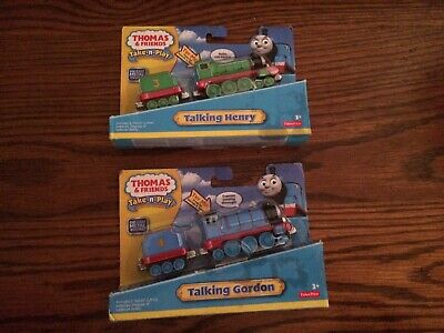 Talking Gordon & Henry for the Die-Cast Thomas and Friends Take-n-Play NEW!