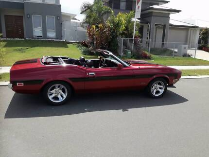 1971 Ford Mustang Convertible Bundall Gold Coast City Preview
