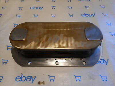 Detroit Diesel Oil Cooler 8539953 453 53 Series 8 Plate Mtu