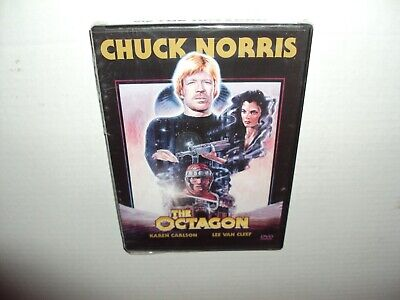 New Sealed The Octagon DVD 2004 Chuck Norris-Karen Carlson-