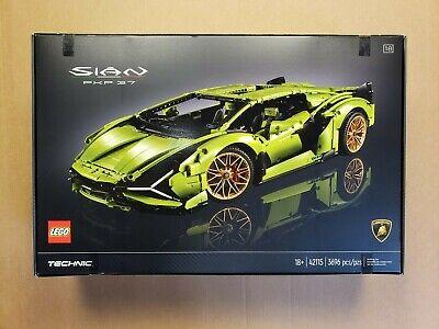 LEGO 42115 Technic Lamborghini Sián FKP 37 (3696 Pcs) *** READ DESCRIPTION