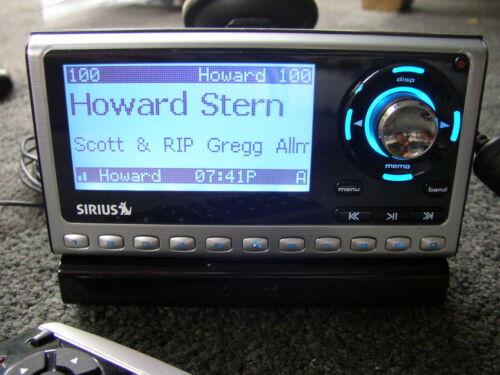 LIFETIME SUB Guaranteed+ SIRIUS Sportster SP4 satellite radio W/Car KIt ,Remote