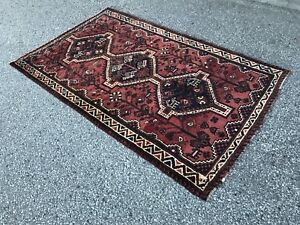 Vintage Persian rug tribal Shiraz clean and peice to sell fast