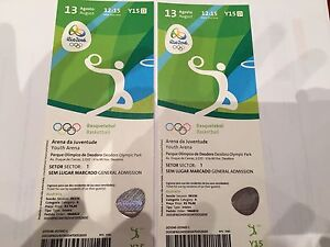 Rio Olympic Tickets - Australian match! Basketball Kingston South Canberra Preview