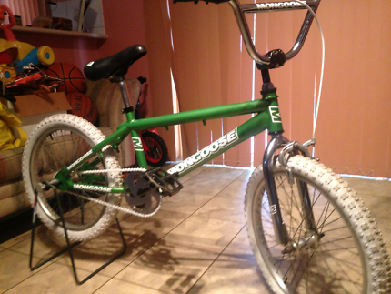 "1980 20"" Mongoose bmx bike"