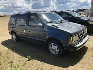 1989 Plymouth Voyager Turbo 2.5