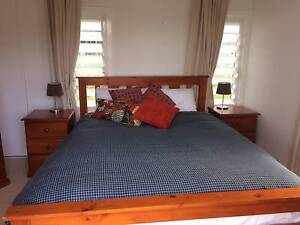 Timber 5pc Bedroom Suite with Queen Mattress Paddington Brisbane North West Preview