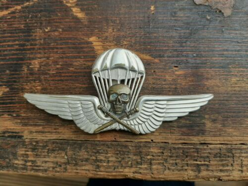 WWII Hungarian Parachutist's Badge Air Force Paratrooper Fallschirmjager WK2