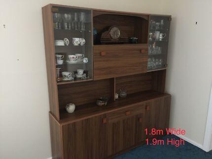Wall Unit Vintage Veneer 70\'s   Cabinets   Gumtree Australia Geelong ...