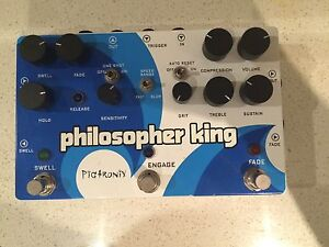 Pigtronix Philosopher King effects pedal Sutherland Sutherland Area Preview