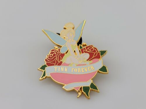 2007 Disney Tinker Bell Tink Forever Roses Pin NEW No Card