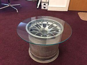 F1 Wheel coffee table - Man Cave
